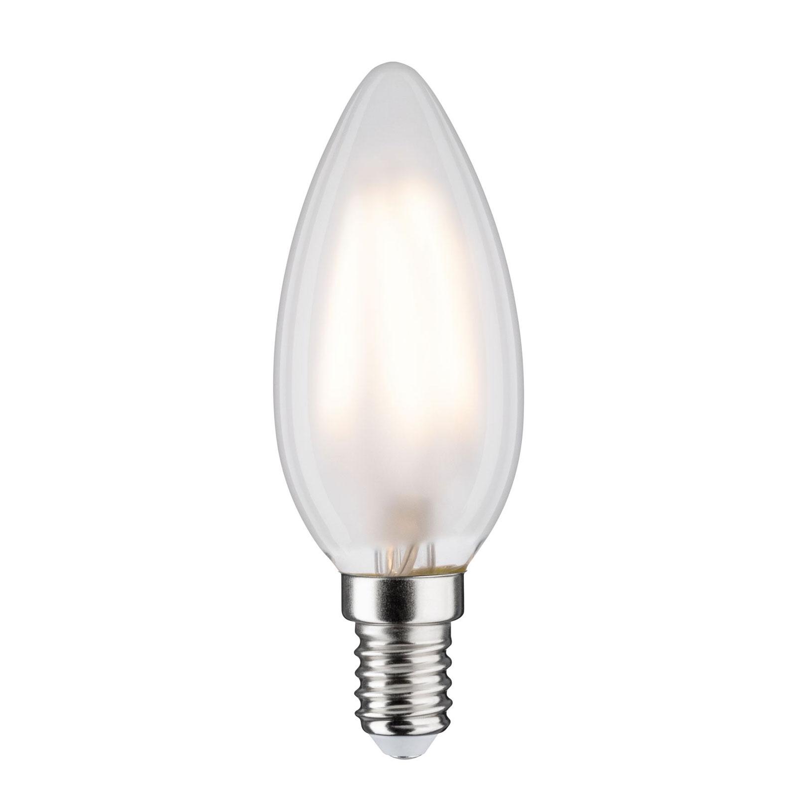 LED-Kerzenlampe E14 4,5W 2.700K matt