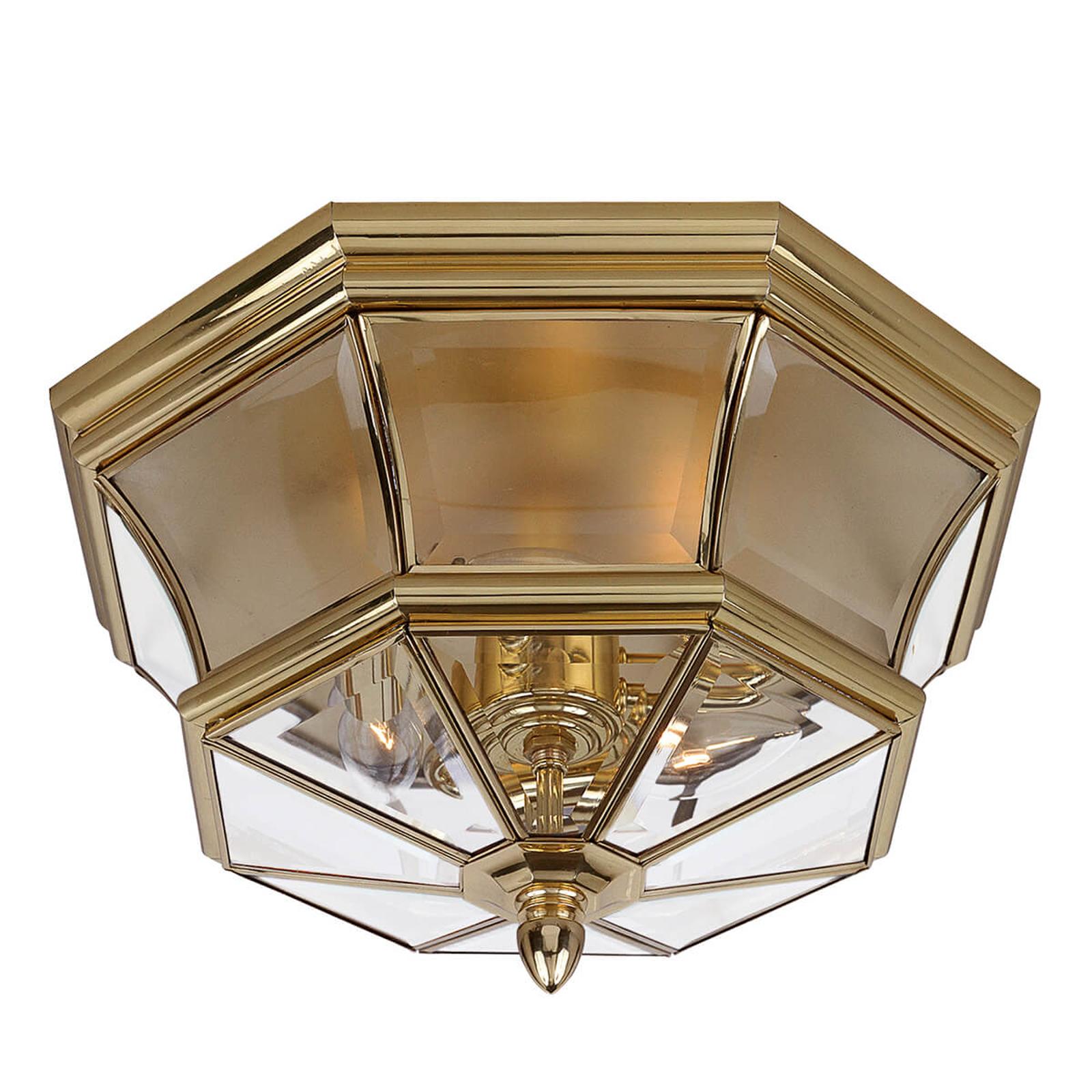 Spatwaterbeschermde plafondlamp Newbury