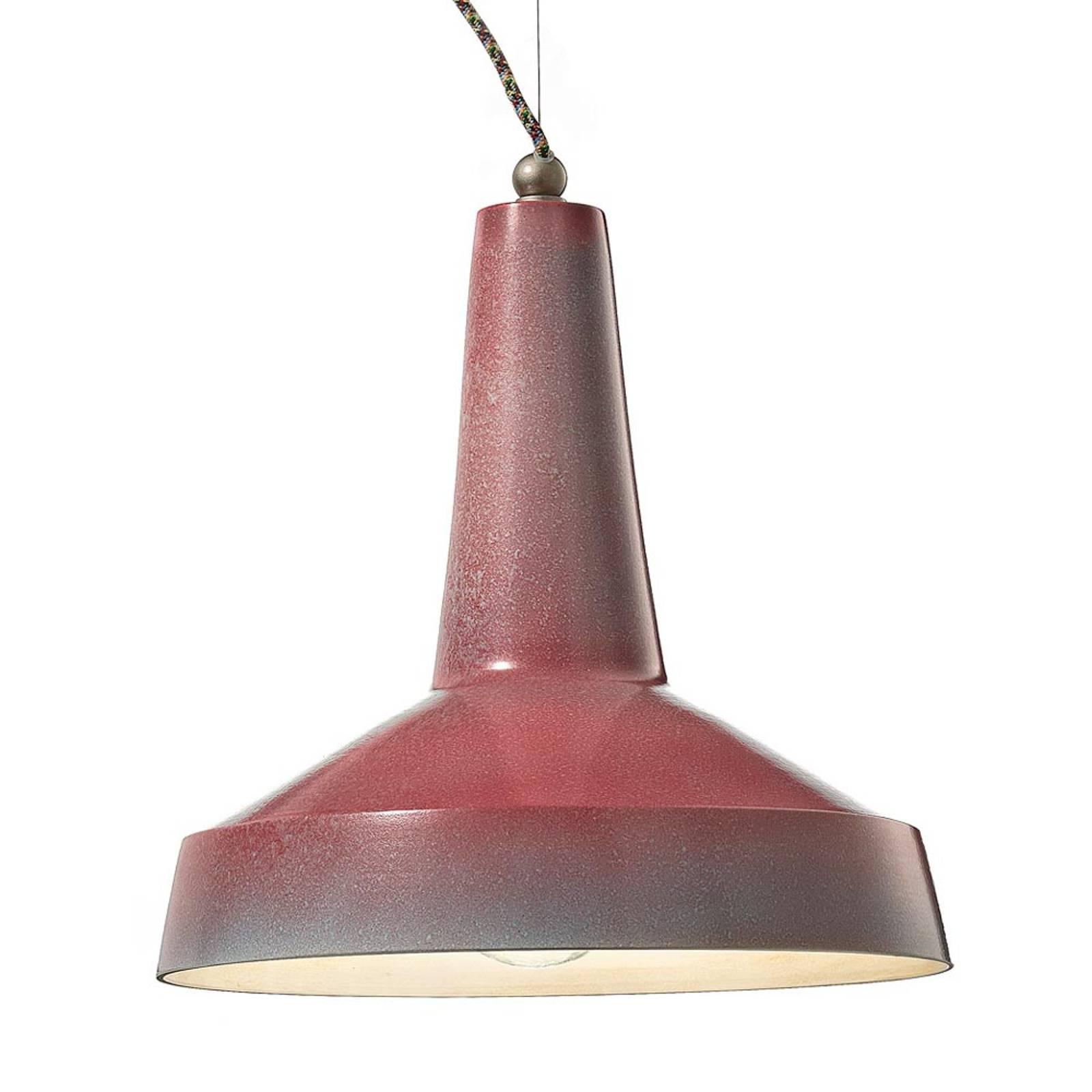 Ceramiczna lampa wisząca Matteo industrialna