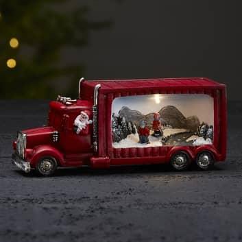 Lampada decorativa LED Merryville camion natalizio