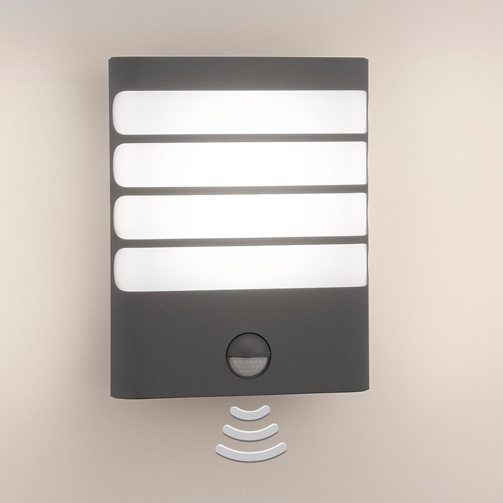 Philips Raccoon LED-buitenwandlamp antraciet
