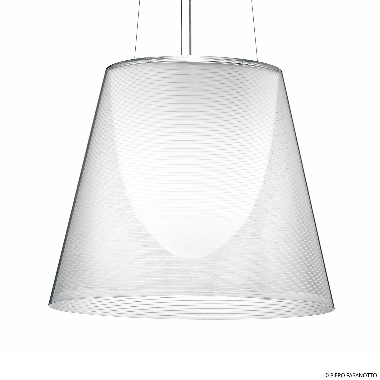 FLOS KTribe S3 hængelampe, transparent