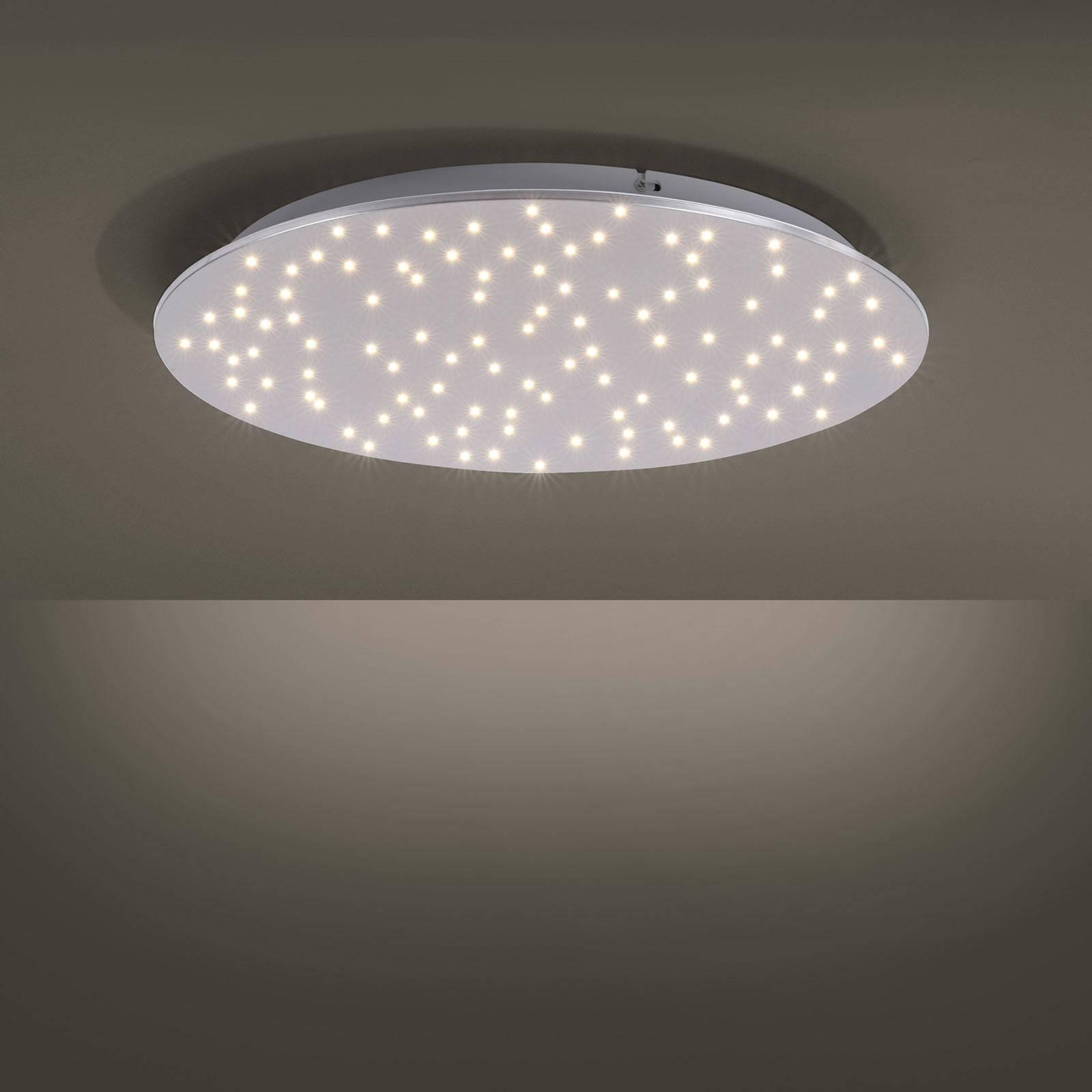 LED plafondlamp Sparkle, afstembaar wit, Ø 48 cm