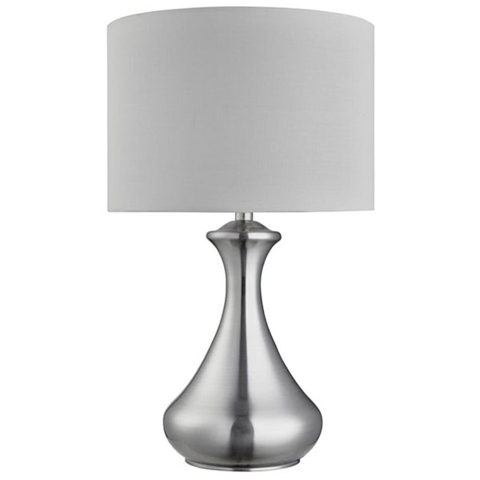 Lampada da tavolo Touch 2750, argento satinato