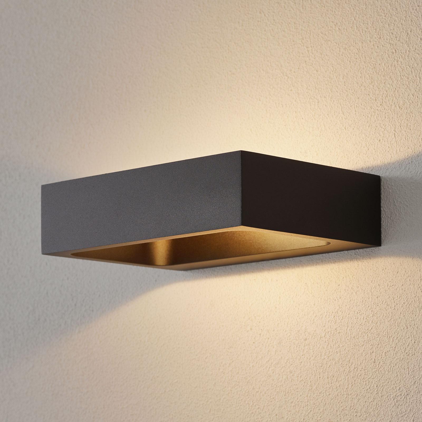 WEVER & DUCRÉ Bento 1.3 LED-vegglampe svart