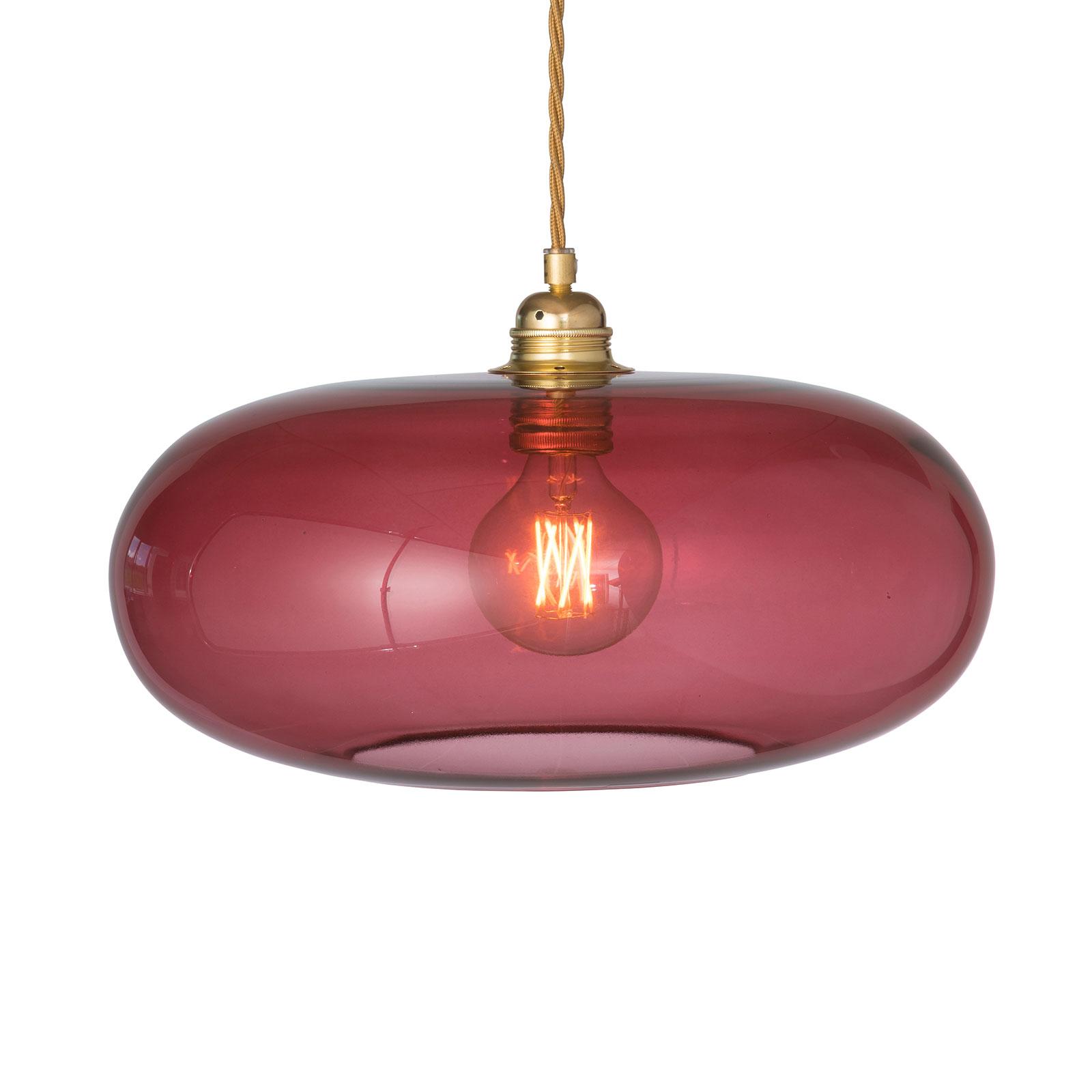 EBB & FLOW Horizon hanglamp rood Ø 36 cm