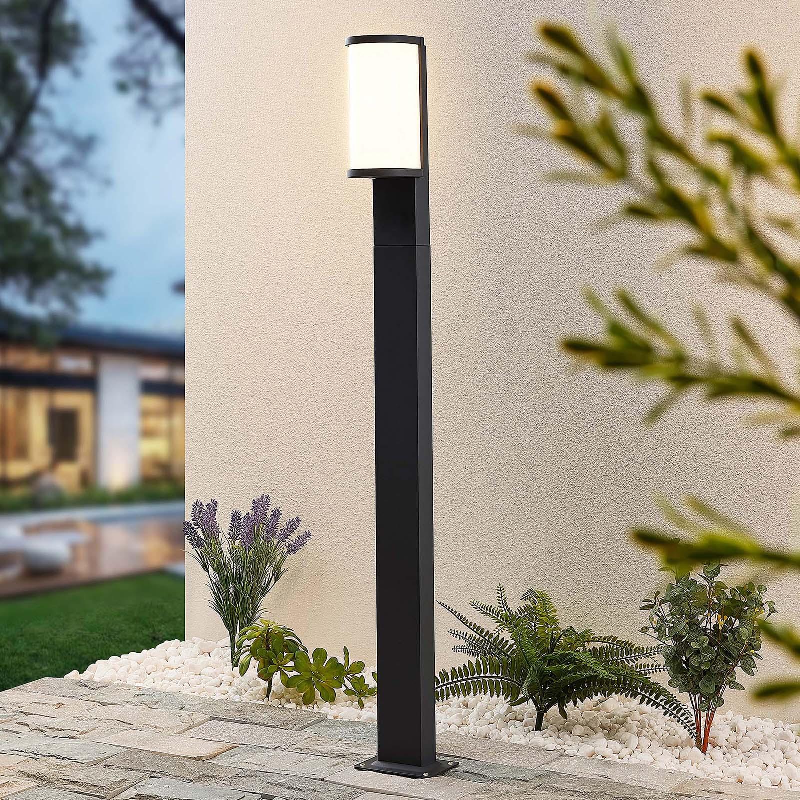 Lucande Jokum słupek oświetleniowy LED IP65 100 cm
