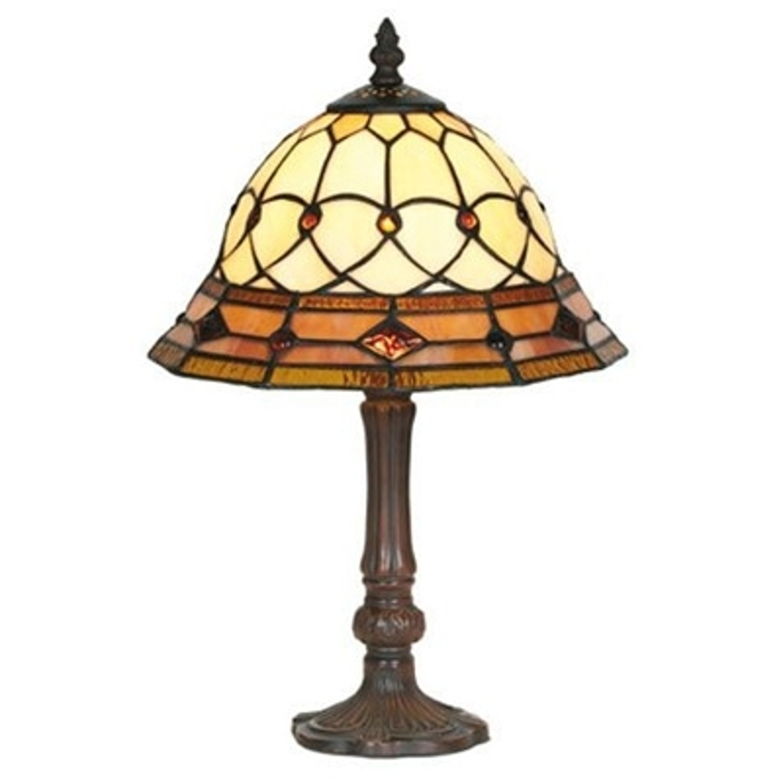Ręcznie wykonana lampa stołowa KASSANDRA 42 cm