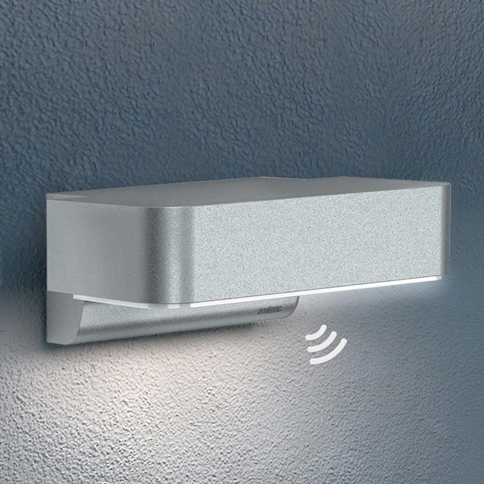 STEINEL L 800 LED iHF utendørs vegglampe, sølv