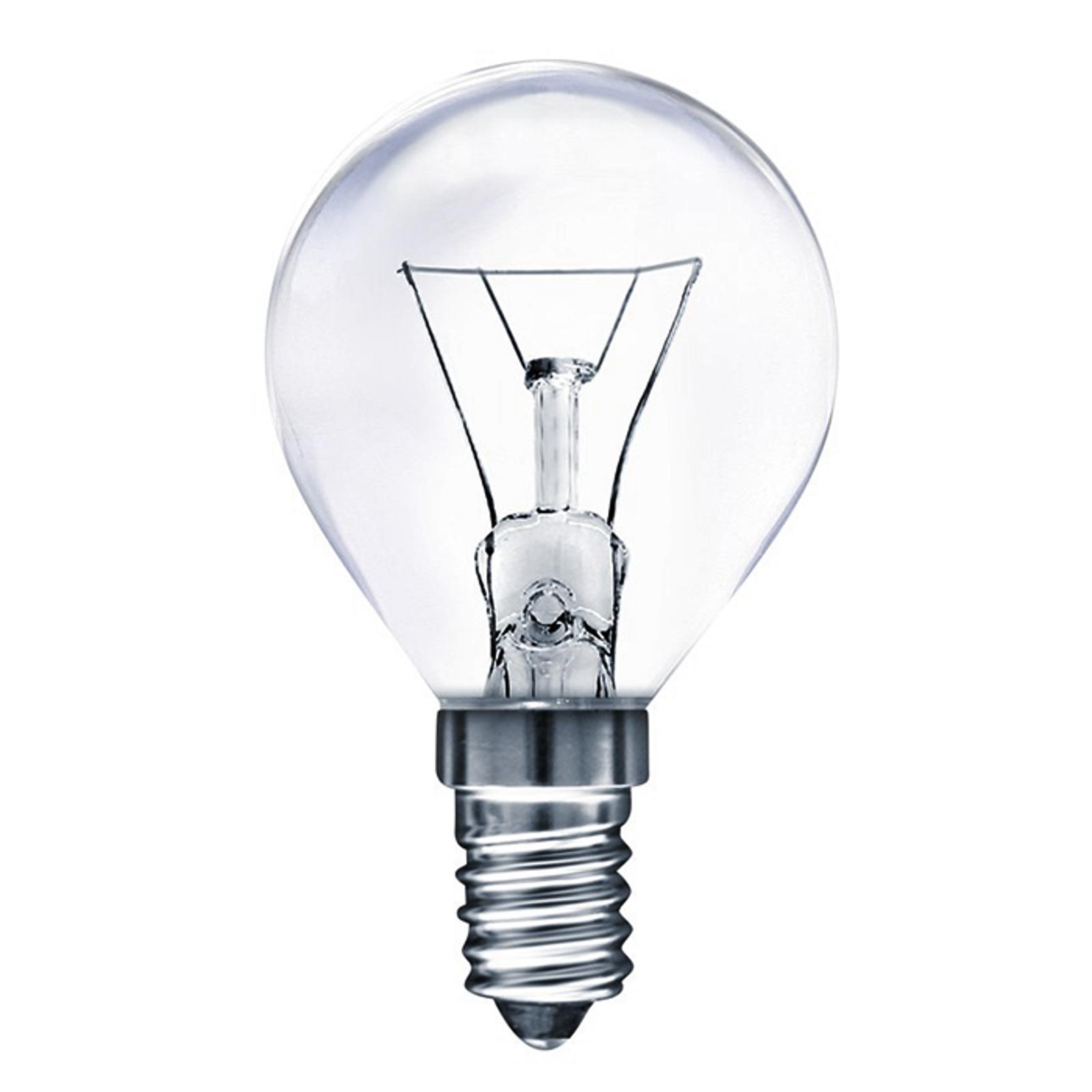 E14 25W Backofenlampe Tropfenform, warmweiß