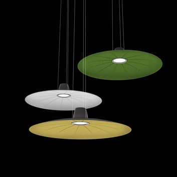 Martinelli Luce Lent LED-hengelampe, lyddempende