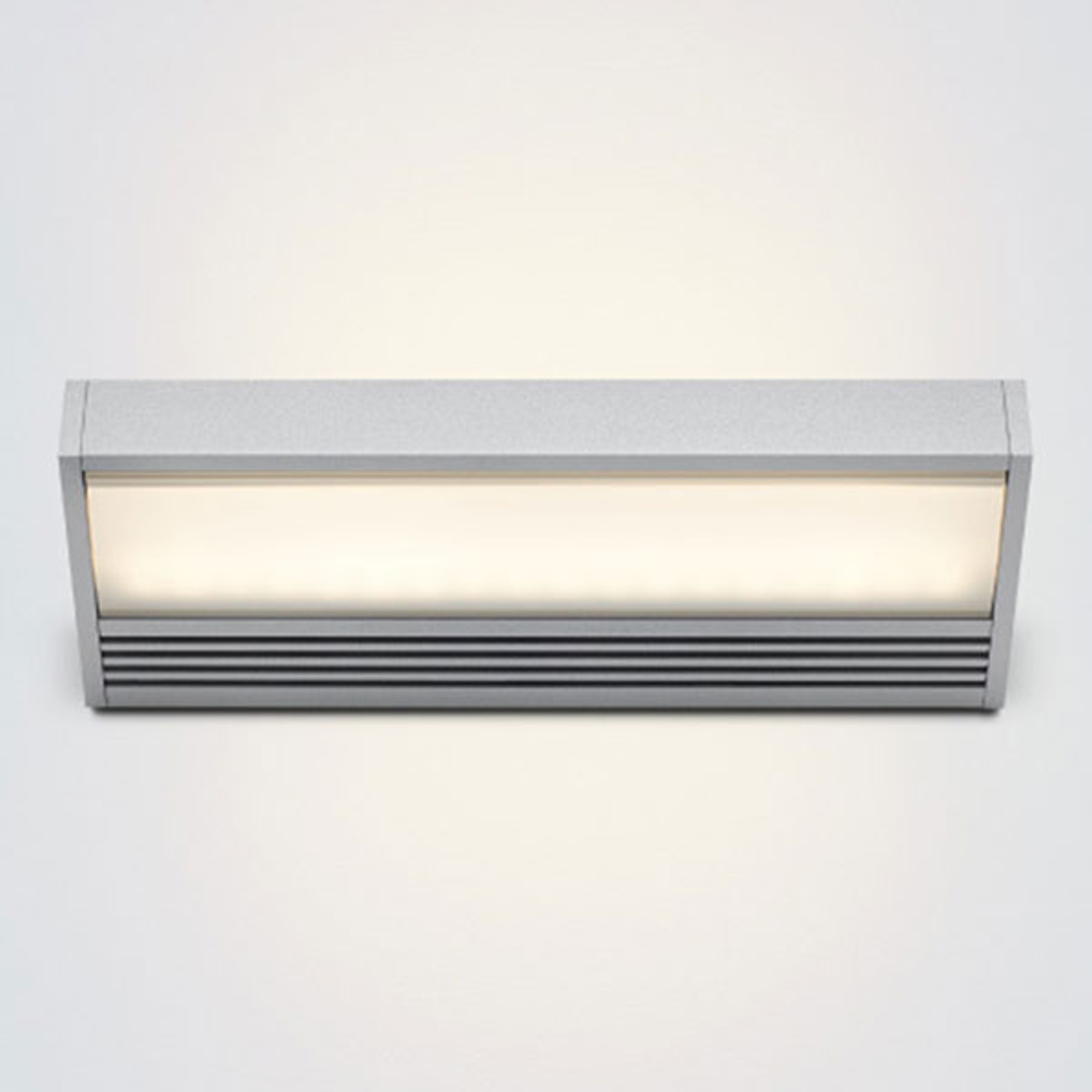 LED wandlamp SML in zilver