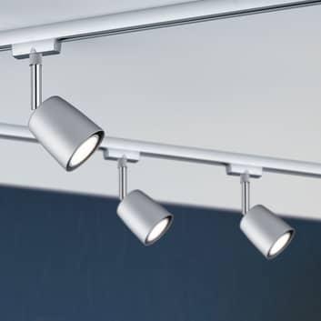 BIOLEDEX tres 3 phases rails luminaire e27 alu mat Gris rails projecteur 882