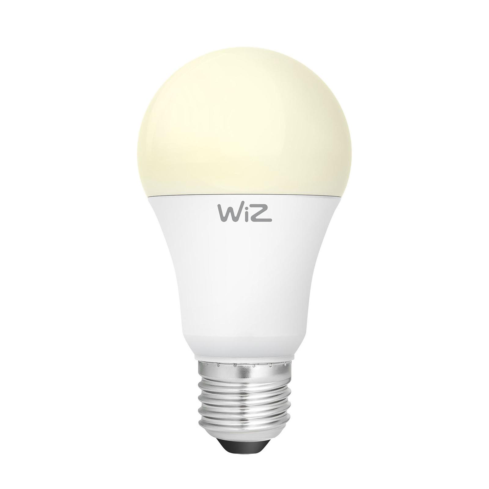 WiZ E27 LED pera A60 satinato 9W 2.700K