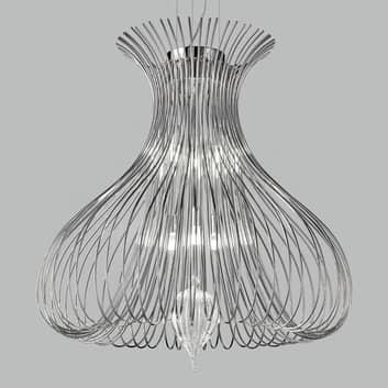 Působivé závěsné světlo Silhouette, výška 60 cm