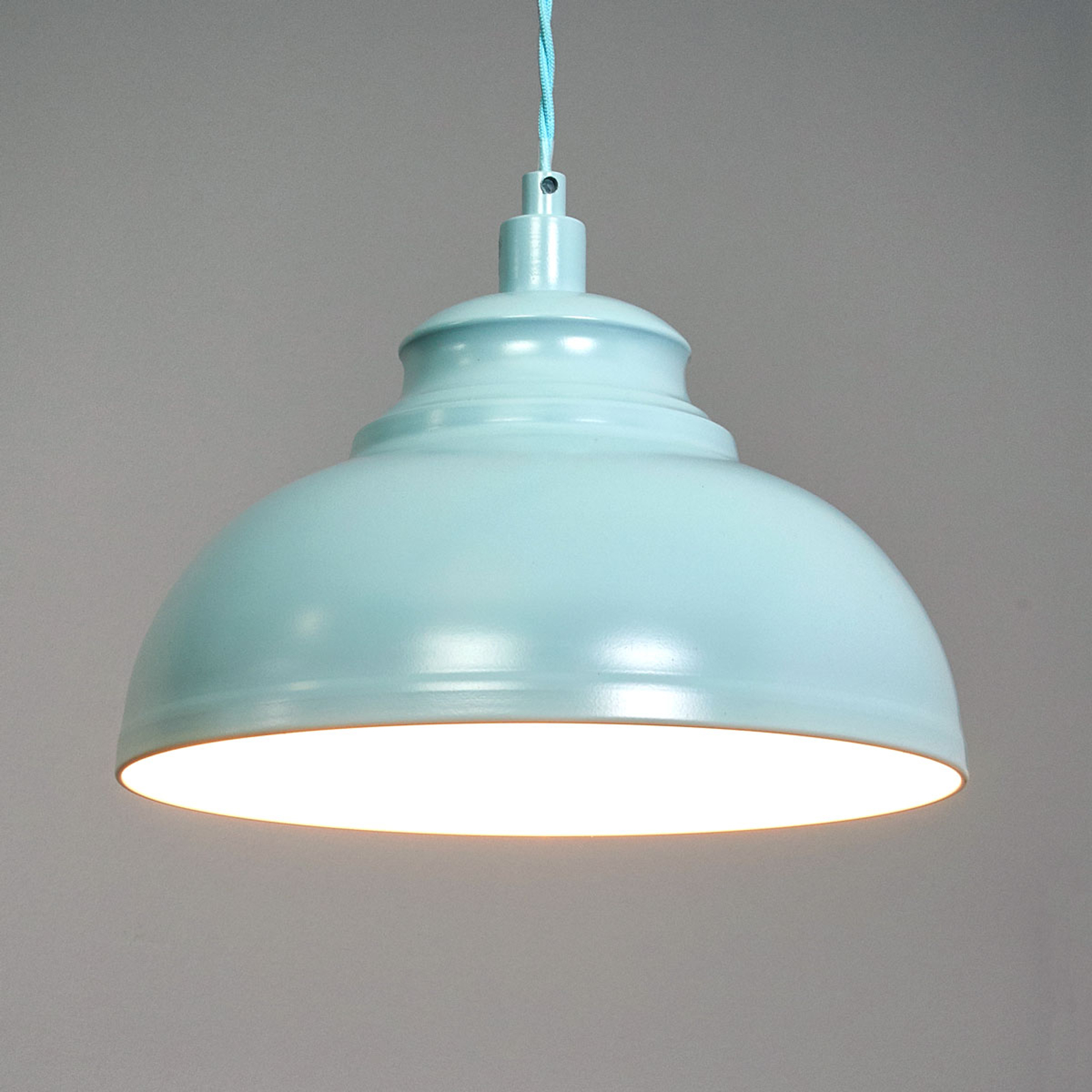 Isla - a hanging light in a soft blue colour_6054992_1