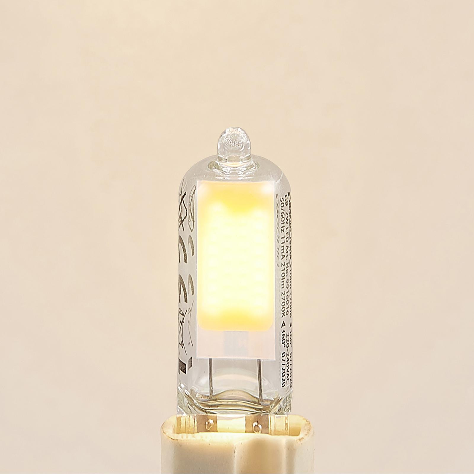 Arcchio lampadina LED bispina G9 2W 2.700K