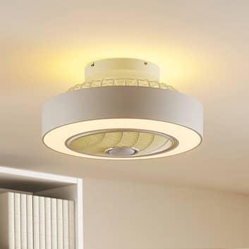 Lindby Mlijanka ventilador de techo LED
