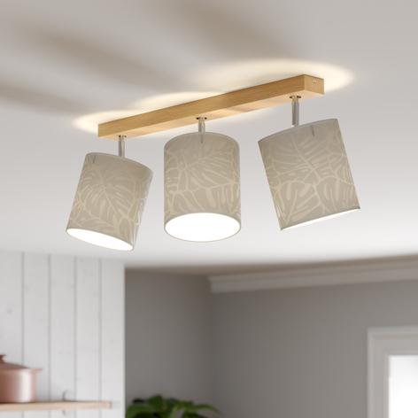 Spot pour plafond Hierro à 3 lampes