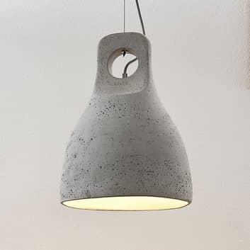 Lindby Ibu závěsné světlo s beton. stínid., 1žár-
