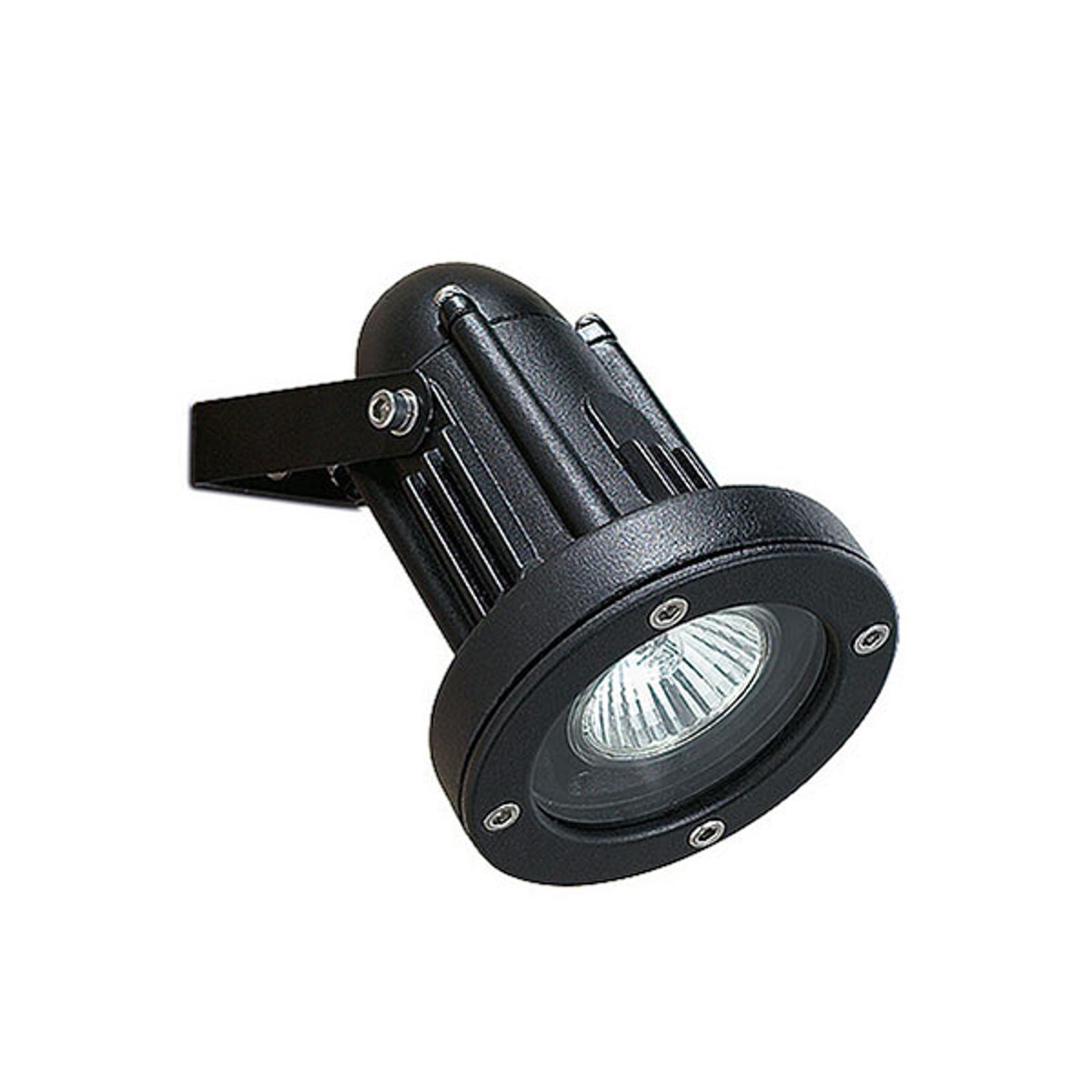 Solidny wychylny reflektor zewnętrzny Helio czarny