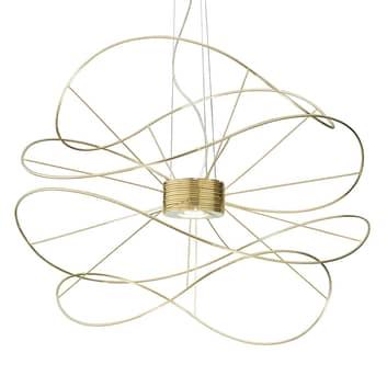 Axolight Hoops 4 LED závěsné světlo, zlatá