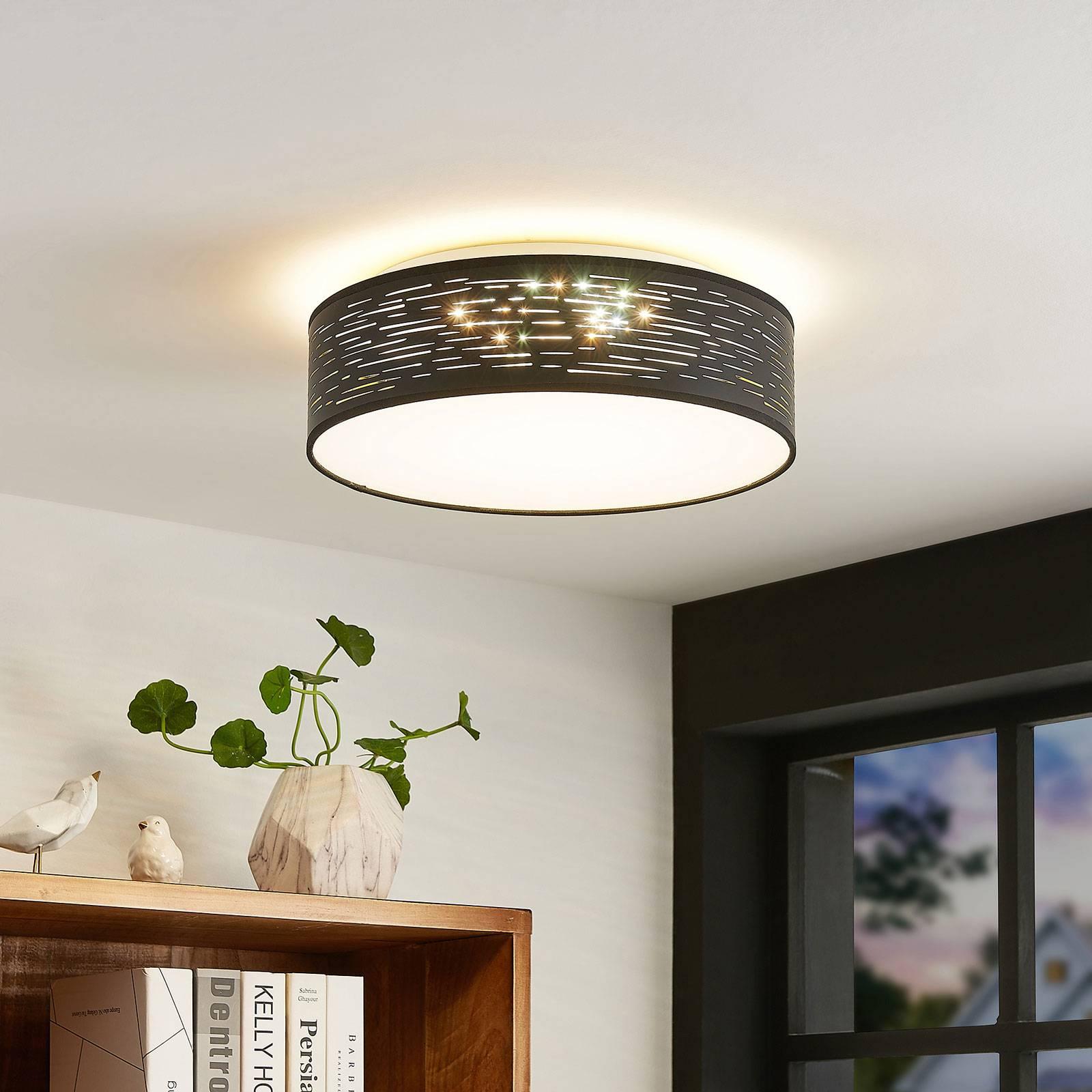 Lindby Iolyn LED plafondlamp, Ø 38cm