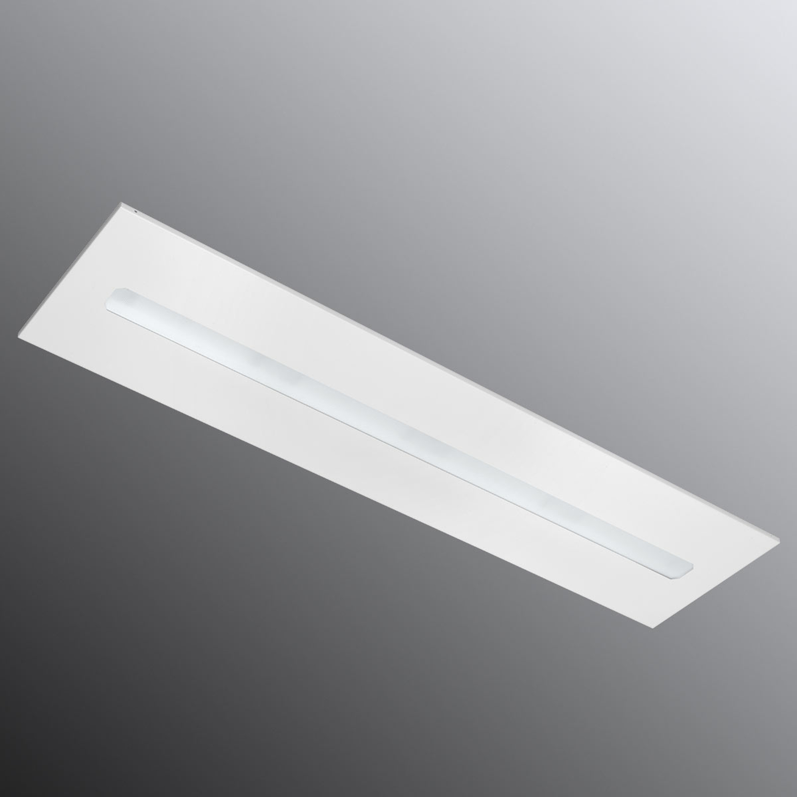 Freyn II Recessed LED-Panel 124,5 x 31cm 4.000K