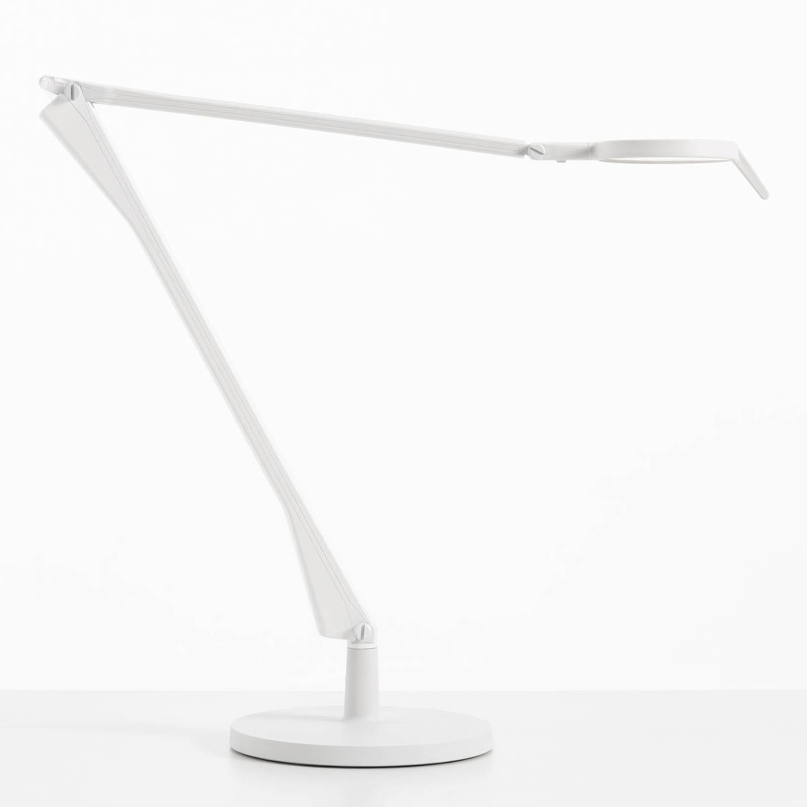 Kartell Aledin Tec lampe à poser LED, blanche