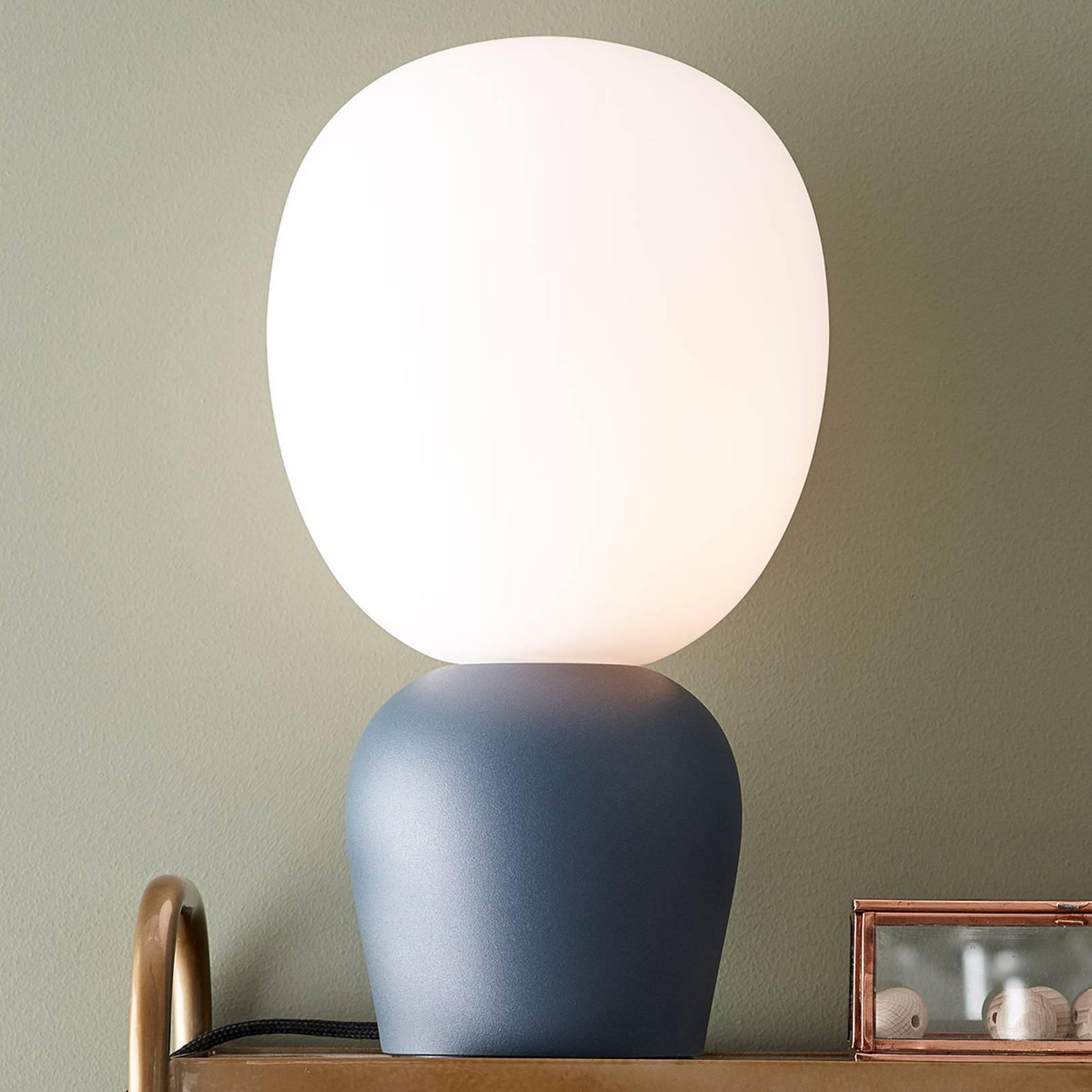 Tafellamp Buddy, azuur-blauw
