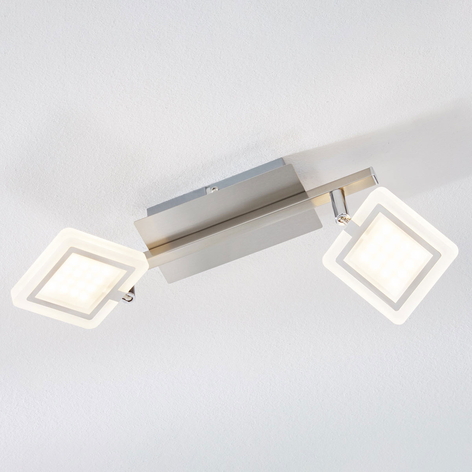 LED-Deckenstrahler Evelina, 2-flammig