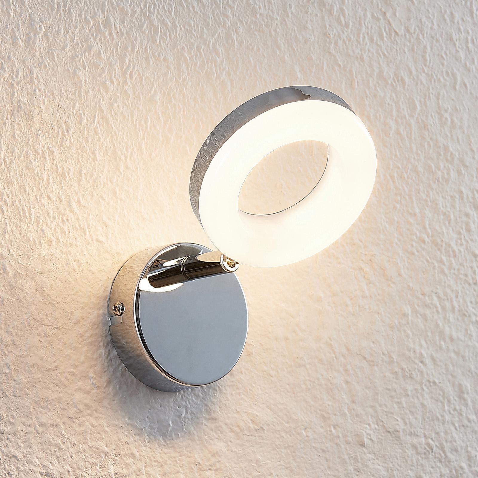 ELC Tioklia LED-Spot, chrom, einflammig