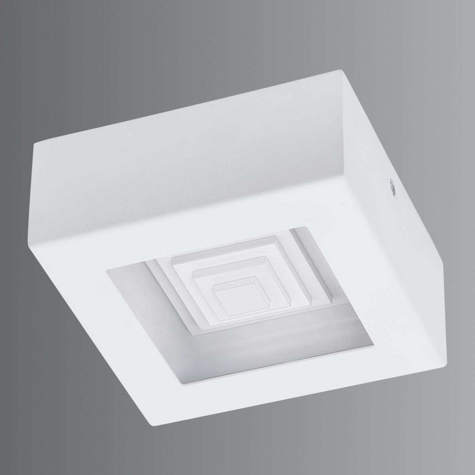 Piccola plafoniera LED Ferreros in bianco