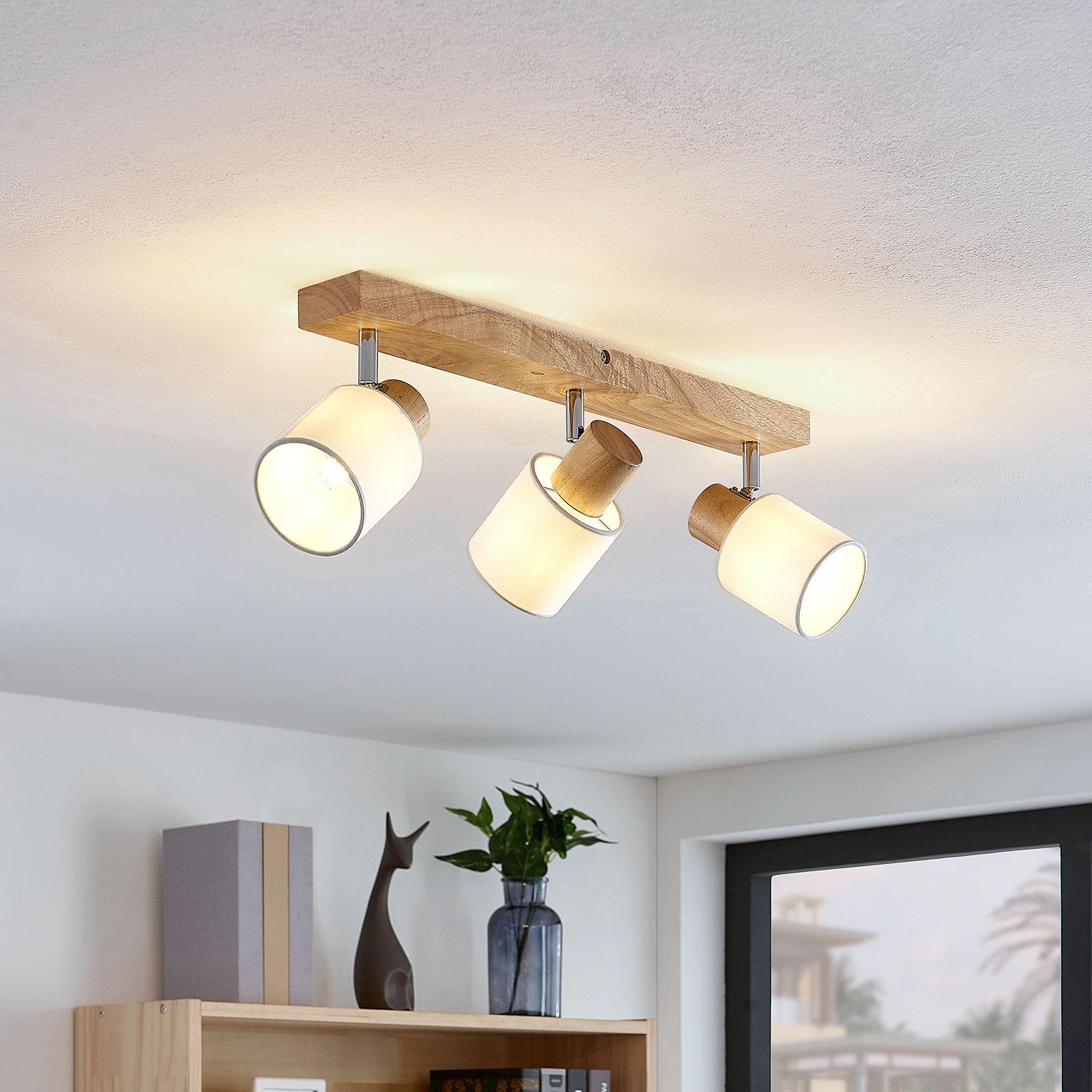 Lindby Wanessa foco de techo, 3 luces