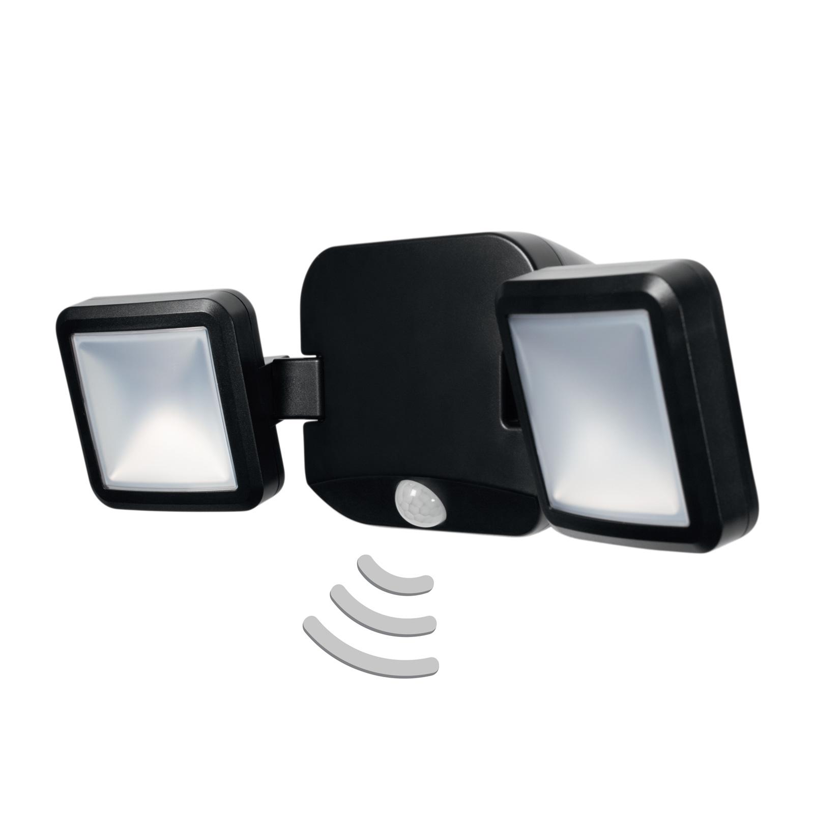 LEDVANCE Battery Spotlight Außenwand 2fl. schwarz