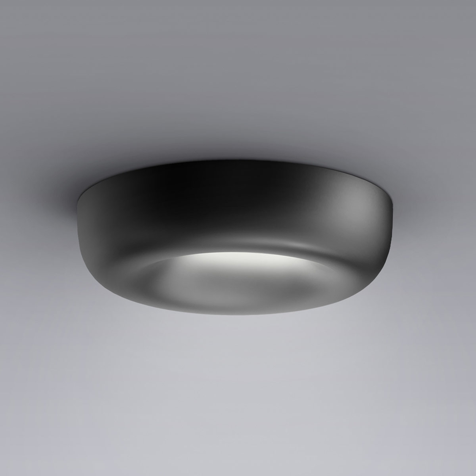 serien.lighting Cavity Recessed S, svart