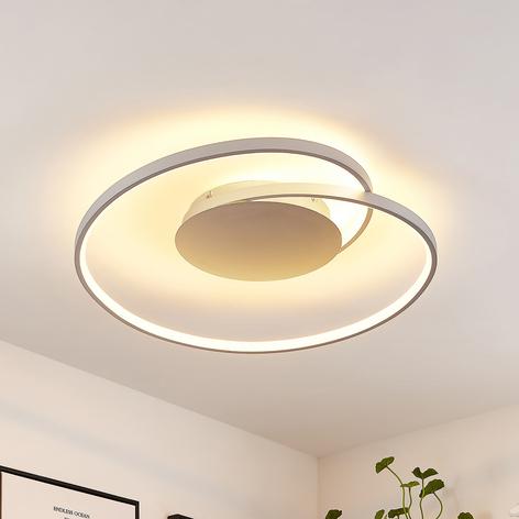 Lucande Enesa -LED-kattovalaisin, pyöreä, CCT