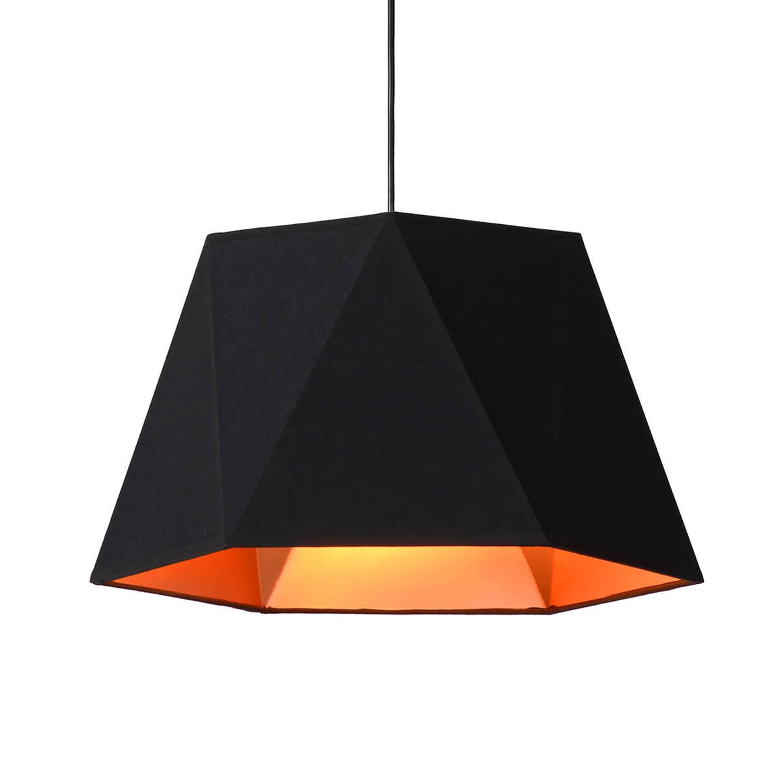 Niezwykła lampa wisząca Alegro, czarna