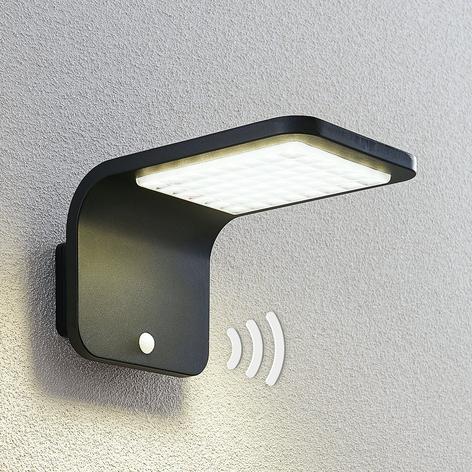 Lindby Koleno LED solcelle-spot med sensor, IP54