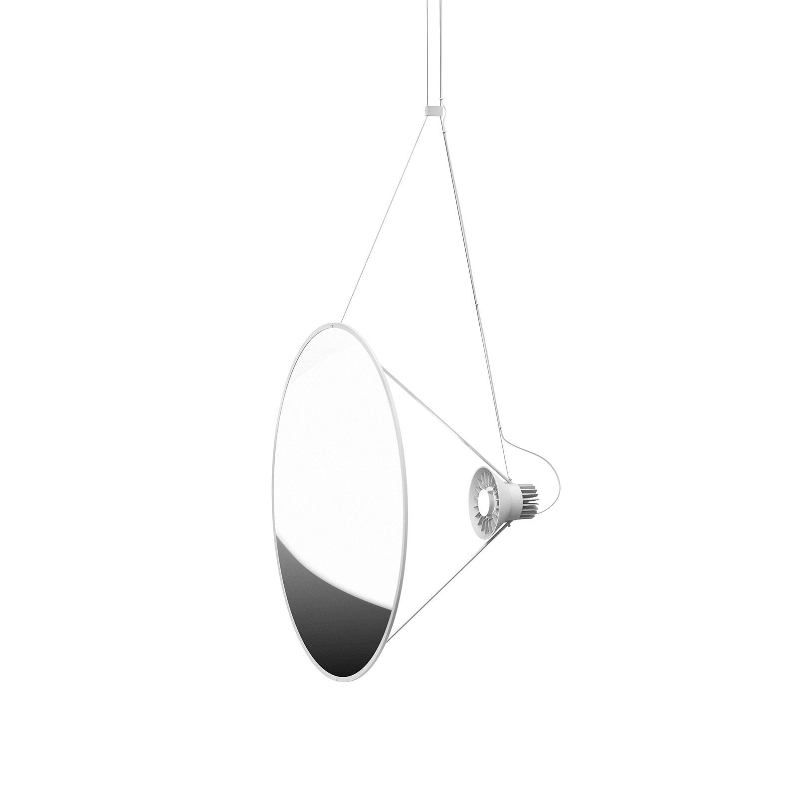Luceplan Amisol LED hanglamp Ø 75cm zilver