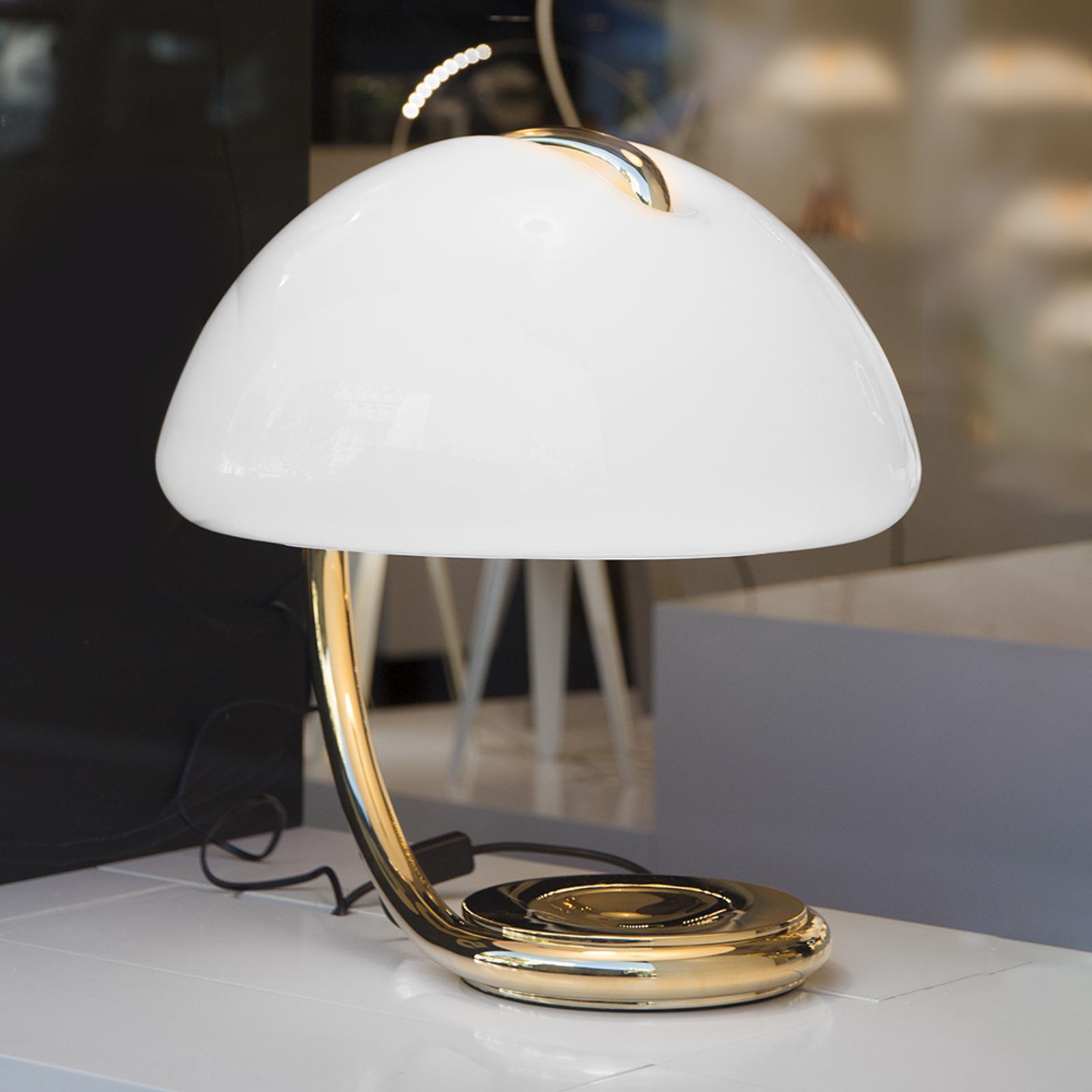 Martinelli Luce Serpente - lampe à poser, dorée