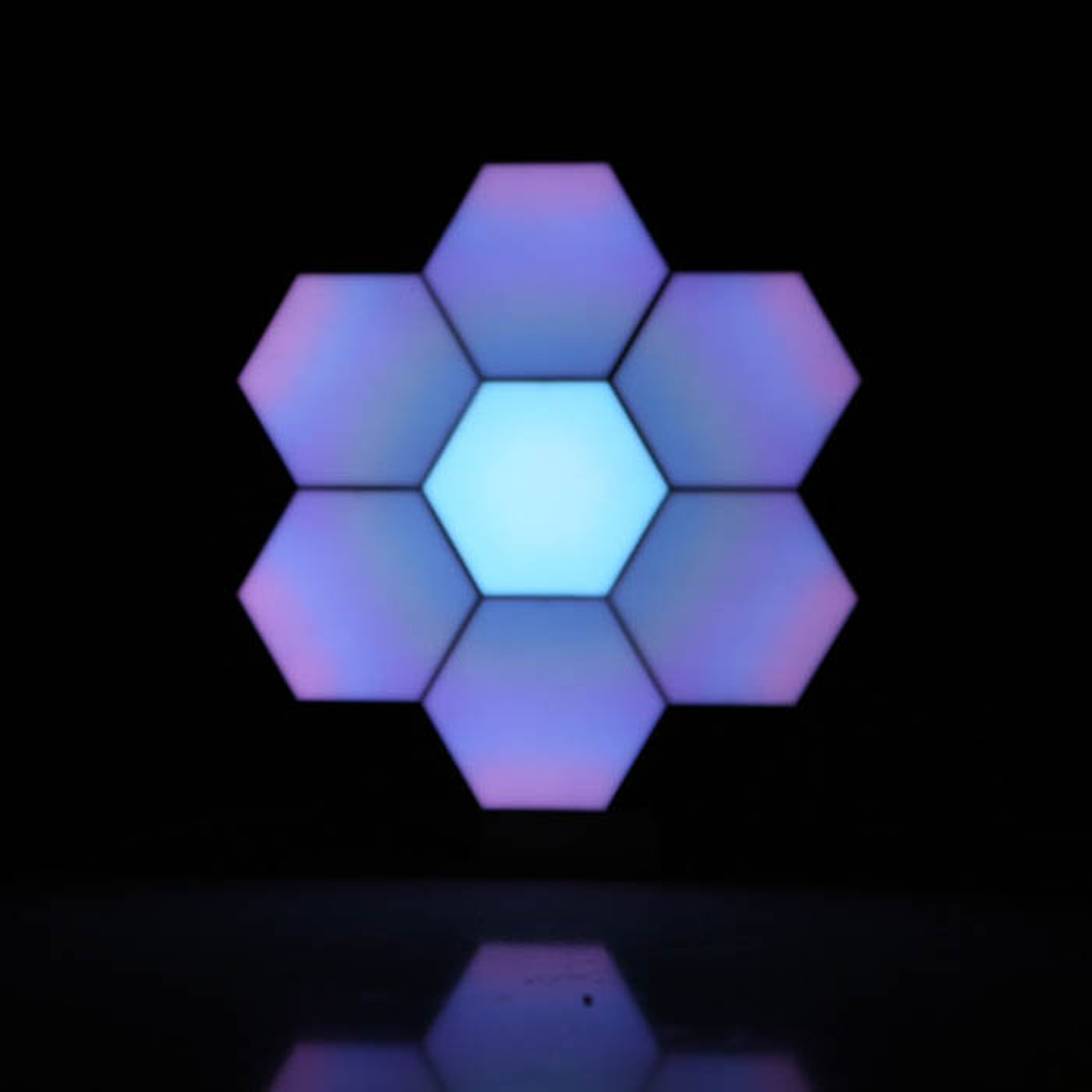 Cololight sfeerlamp Stone Set, set van 6, ste sok