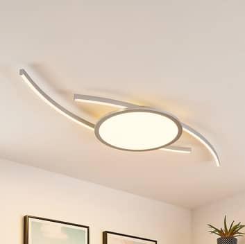 Lucande Tiaro LED-loftlampe, rund, CCT