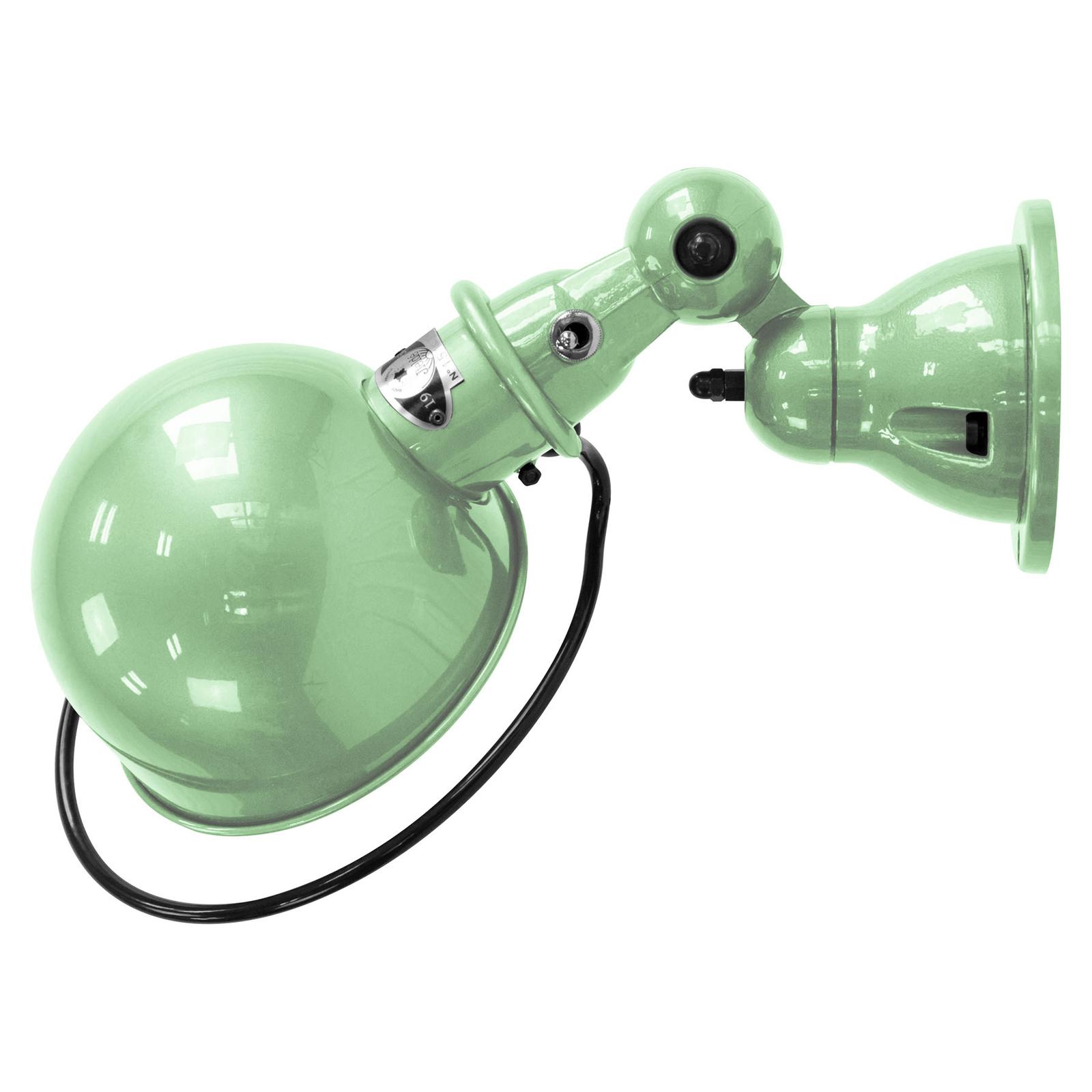 Jieldé Loft D1000 wandlamp industrieel mintgroen