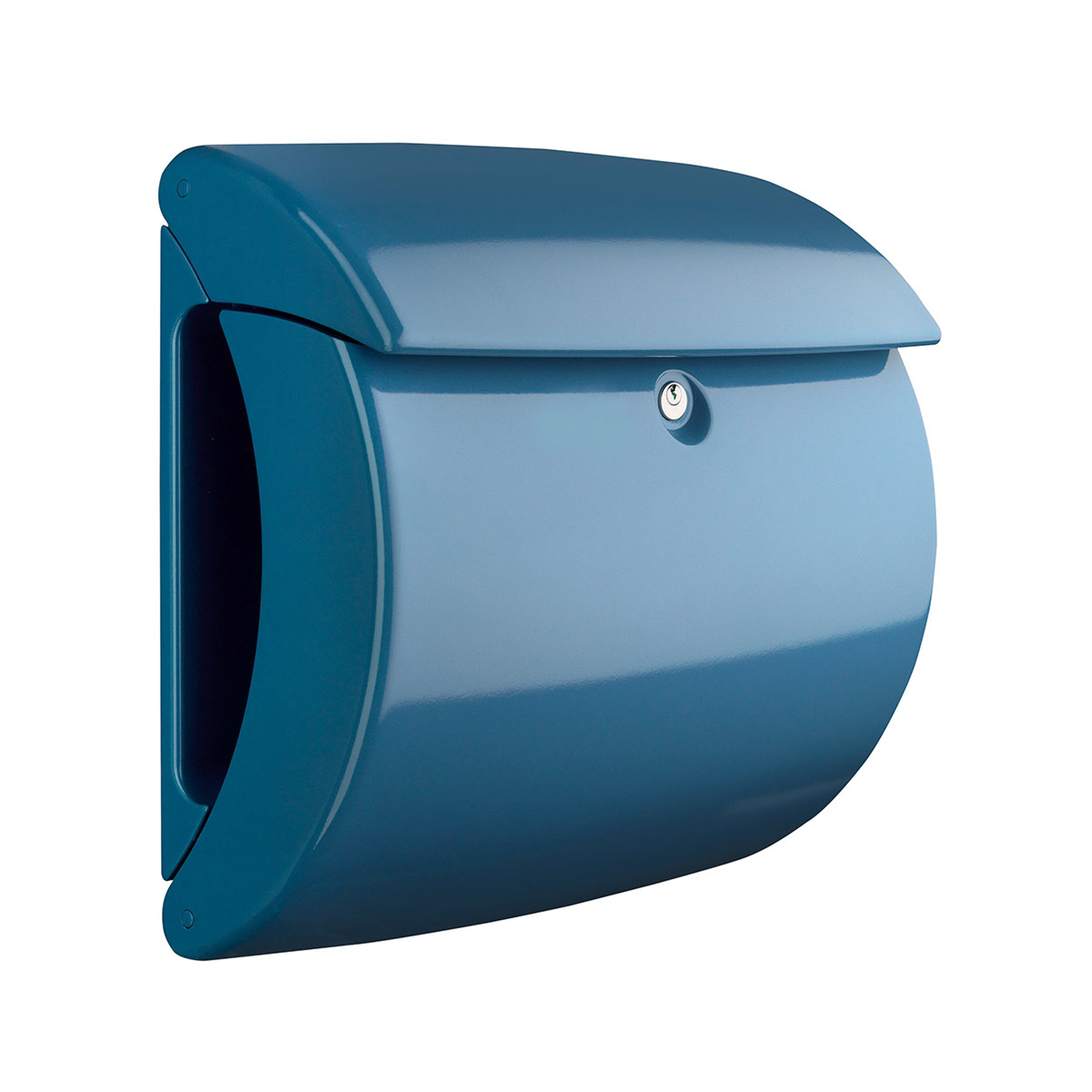 Postkasse Piano 886 light blue