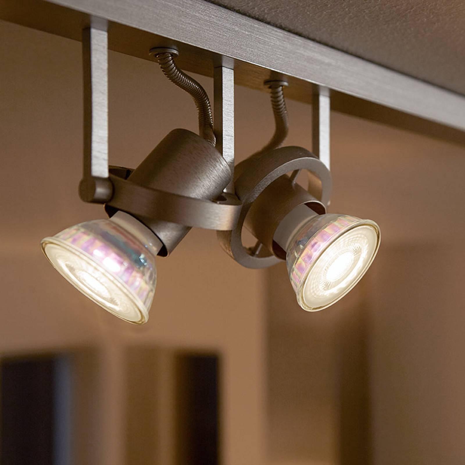 Lampadina LED a riflettore GU10 5 W 36°