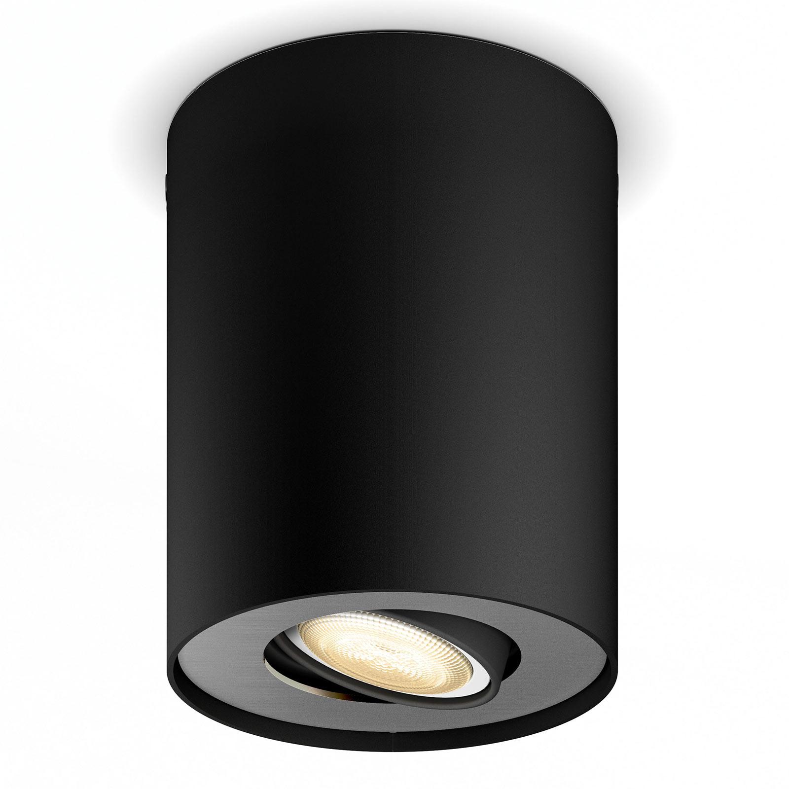 Philips Hue Pillar LED-Spot Dimmschalter, schwarz