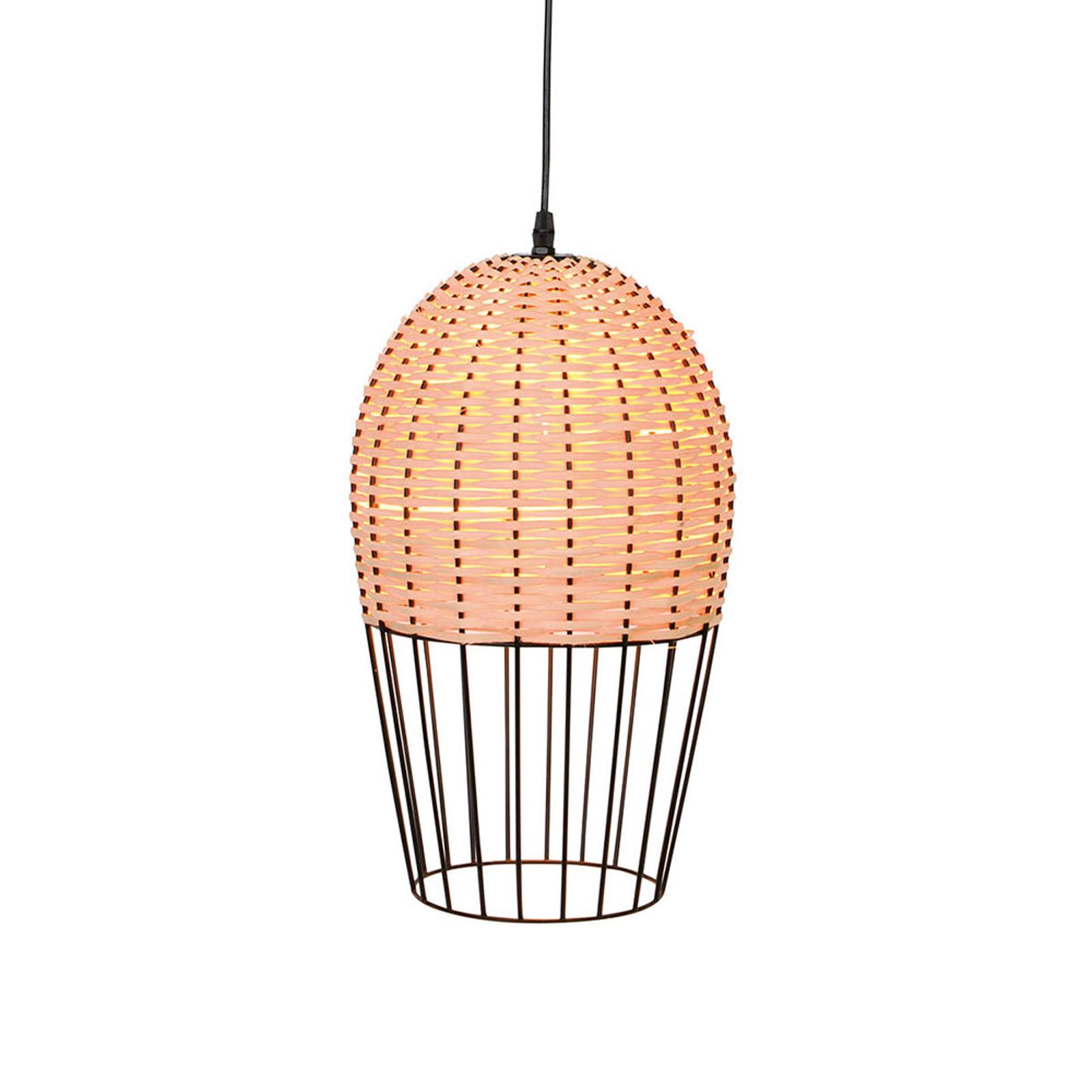 Acquista Lampada a sospensione Dizzi di legno e metallo