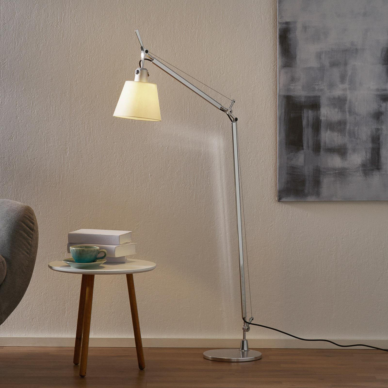 Artemide Tolomeo Basculante Stehlampe Papier 108cm