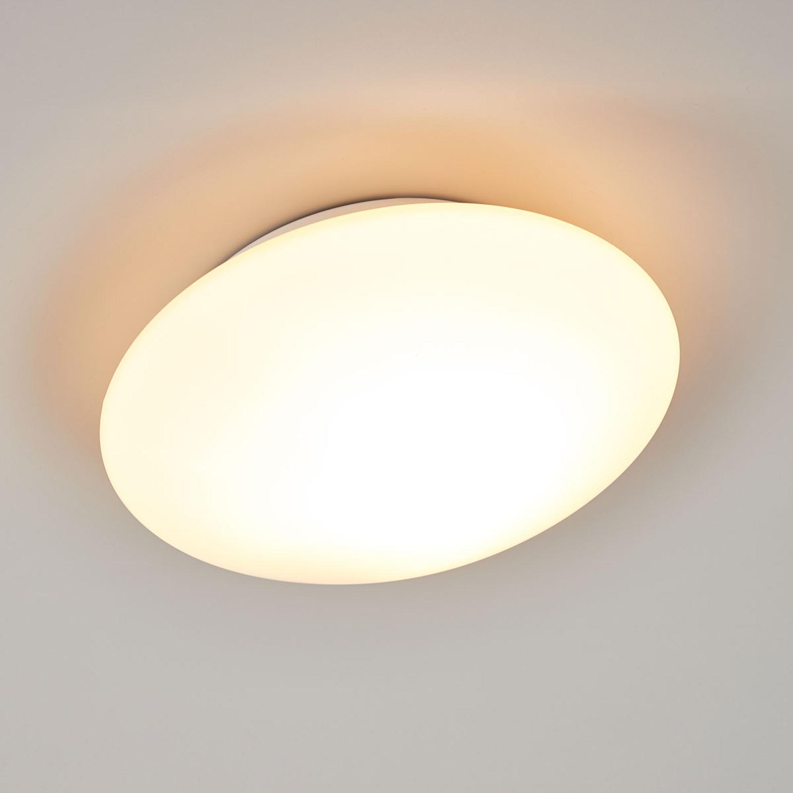 Glazen plafondlamp OPAL, 25 cm